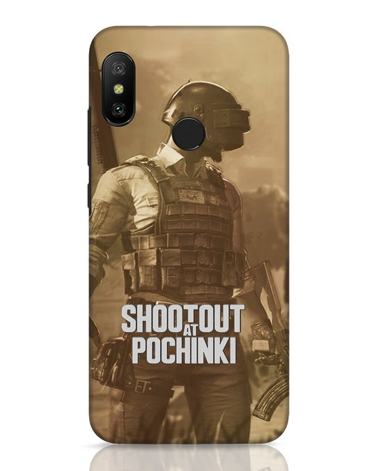Shop Shoot Out At Pochinki Xiaomi Redmi 6 Pro Mobile Cover-Front