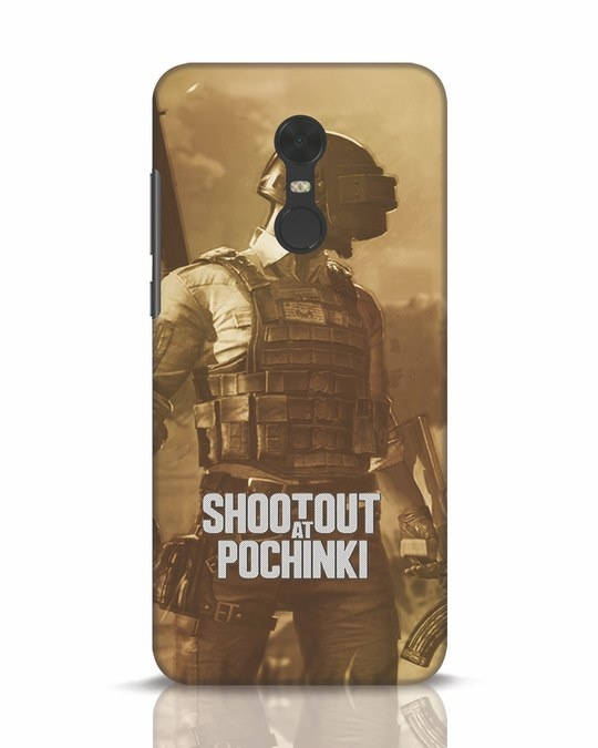 Shop Shoot Out At Pochinki Xiaomi Redmi Note 5 Mobile Cover-Front