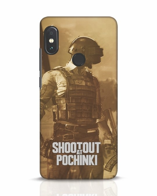 Shop Shoot Out At Pochinki Xiaomi Redmi Note 5 Pro Mobile Cover-Front