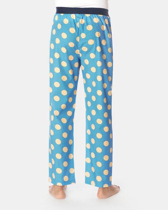 Shop Smugglerz Sicilian Lemon Pyjamas Blue-Design