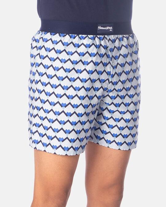 Shop Smugglerz Sicilian Tile Boxer Blue-Back