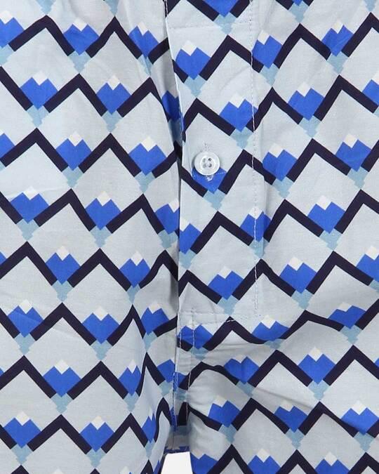 Shop Smugglerz Sicilian Tile Boxer Blue