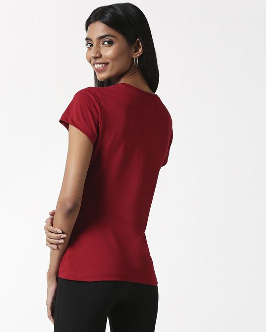 Shop Side Effect Half Sleeve Printed T-Shirt Velvet Cake-Design