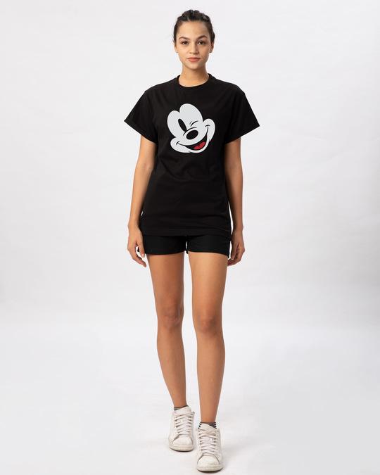 Shop Sideways Mickey Boyfriend T-Shirt (DL)