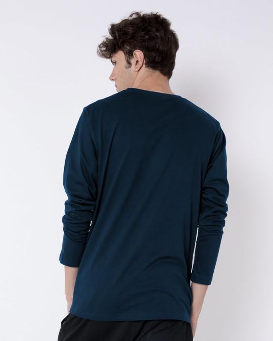 Shop Sideways Mickey Full Sleeve T-Shirt (DL)-Back