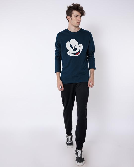 Shop Sideways Mickey Full Sleeve T-Shirt (DL)-Full