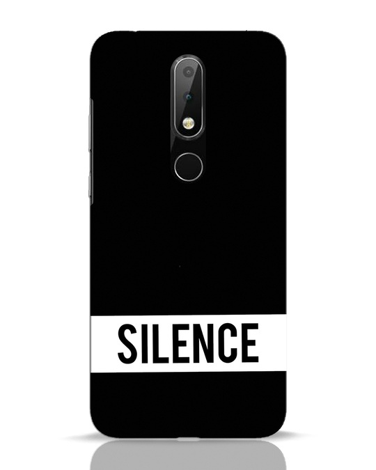 Shop Silence Nokia 6.1 Plus Mobile Cover-Front
