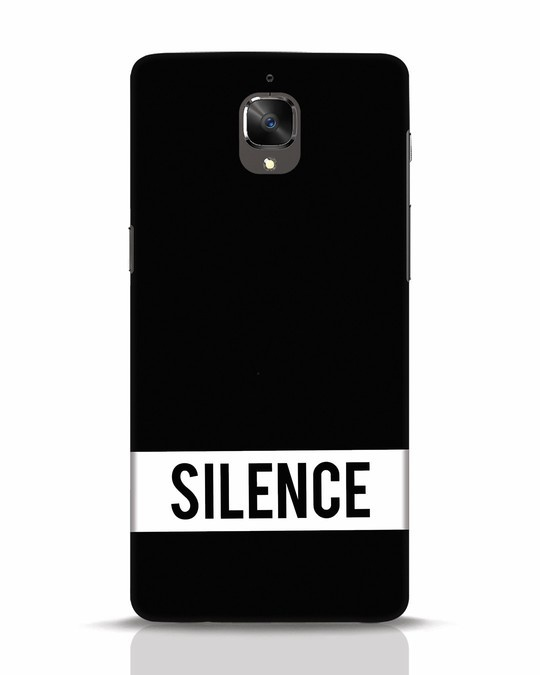 Shop Silence OnePlus 3 Mobile Cover-Front