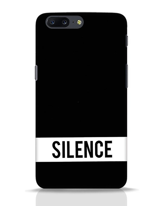 Shop Silence OnePlus 5 Mobile Cover-Front