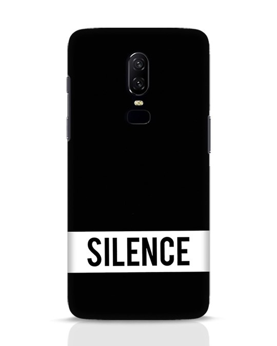 Shop Silence OnePlus 6 Mobile Cover-Front