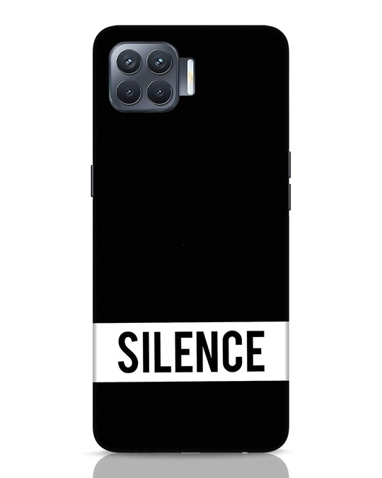 Shop Silence Oppo F17 Pro Mobile Cover-Front