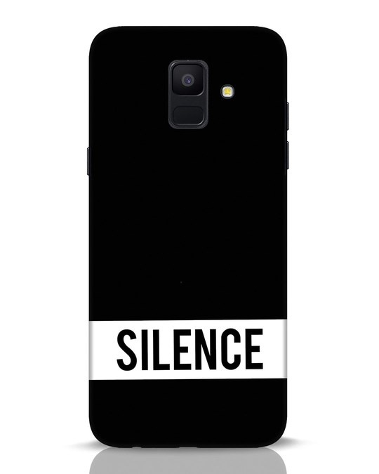 Shop Silence Samsung Galaxy A6 2018 Mobile Cover-Front