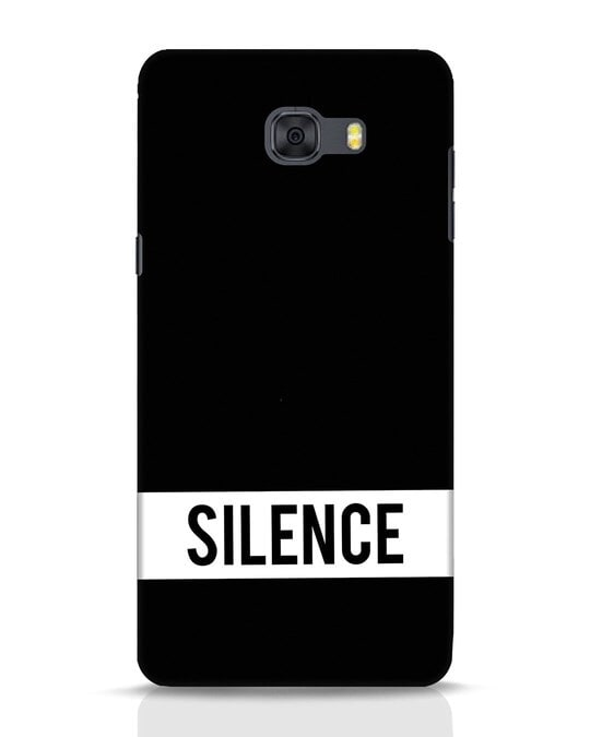 Shop Silence Samsung Galaxy C9 Pro Mobile Cover-Front
