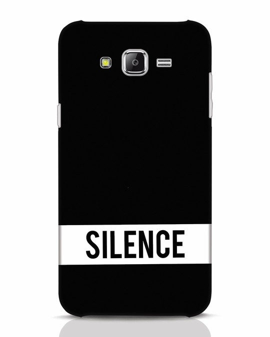 Shop Silence Samsung Galaxy J7 Mobile Cover-Front