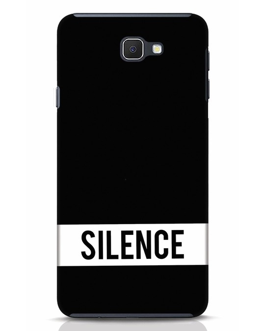Shop Silence Samsung Galaxy J7 Prime Mobile Cover-Front