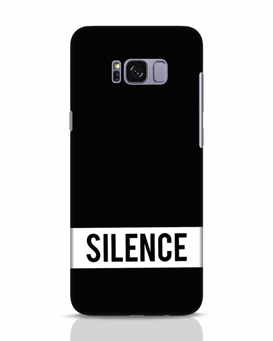 Shop Silence Samsung Galaxy S8 Mobile Cover-Front