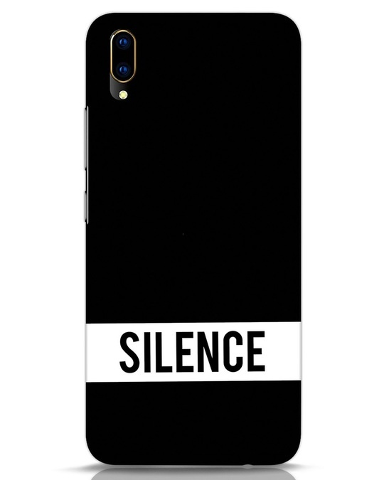 Shop Silence Vivo V11 Pro Mobile Cover-Front