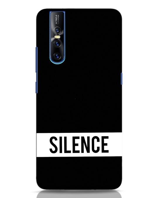 Shop Silence Vivo V15 Pro Mobile Cover-Front