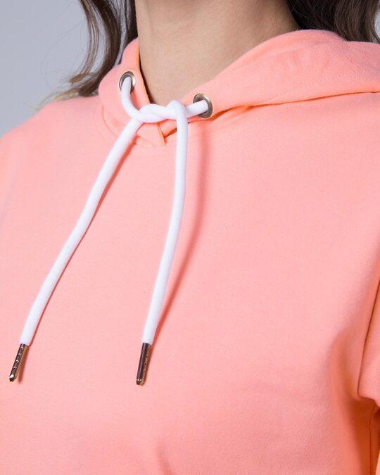 Shop Silver Pink Fleece Hoodies