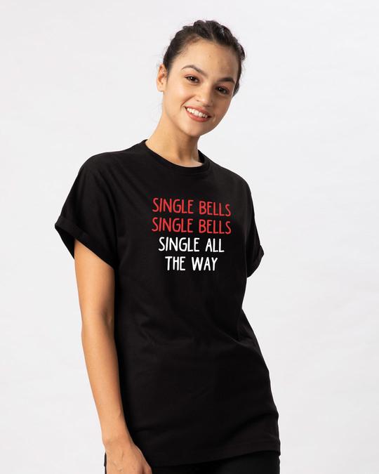 Shop Single All The Way Boyfriend T-Shirt-Back