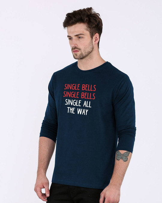 Shop Single All The Way Full Sleeve T-Shirt-Back