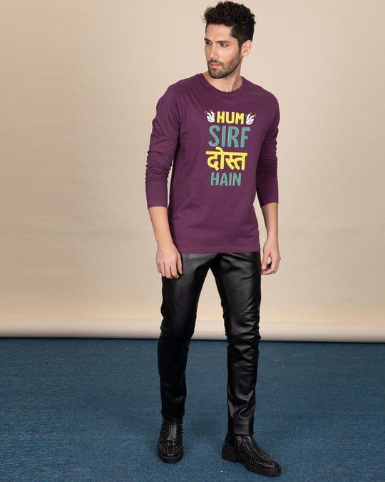 Shop Sirf Dost Full Sleeve T-Shirt-Full