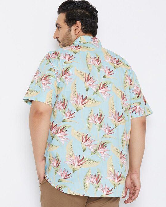 Shop Size Men Stylish Graphic Design Half Sleeve Casual Shirts-Full