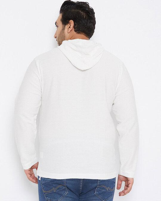Shop Size Men Stylish Solid Full Sleeve Casual Sweatshirt-Full