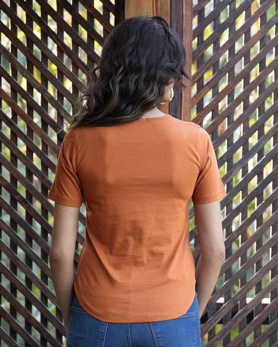 Shop Sketch Expression Basic Round Hem T-Shirt-Full