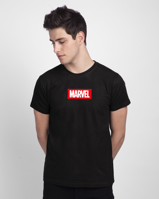 Shop Sketchy Deadpool Half Sleeve T-Shirt Black (DPL)-Back