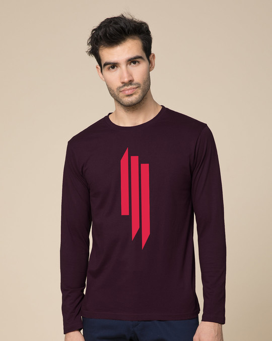Shop Skrlx Full Sleeve T-Shirt-Front