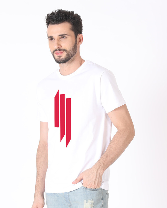 Shop Skrlx Half Sleeve T-Shirt-Full