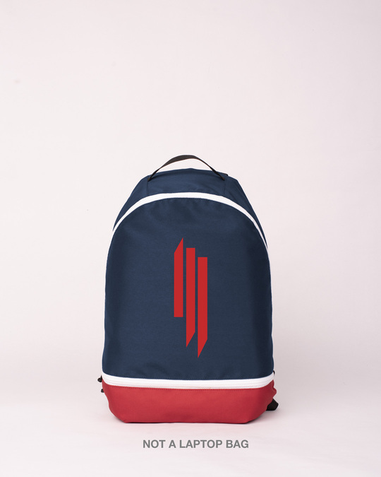 Shop Skrlx Logo Printed Small Backpack-Front