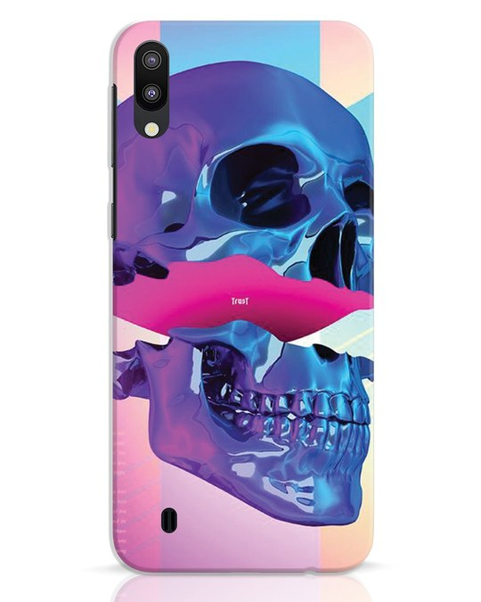 Shop Skull Art Samsung Galaxy M10 Mobile Cover-Front