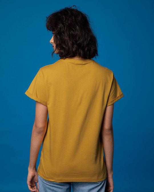 Shop Skull Horn Hand Boyfriend T-Shirt-Full