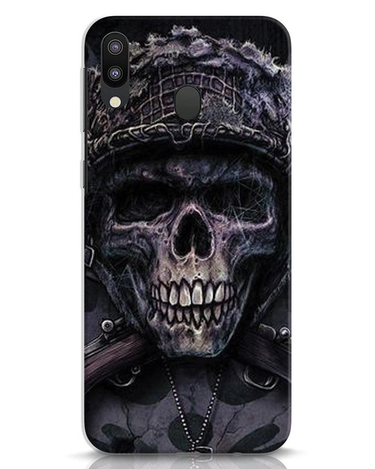 Shop Skull Samsung Galaxy M20 Mobile Cover-Front