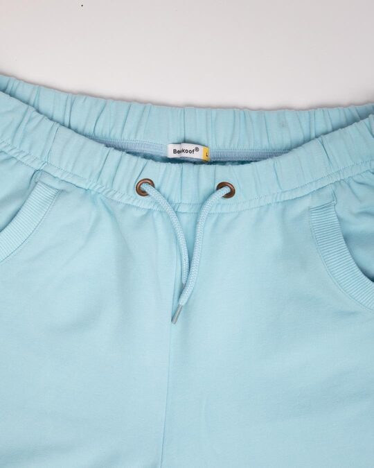 Shop Sky Blue Casual Jogger Pant