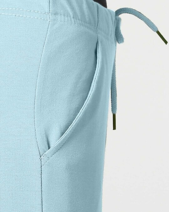 Shop Sky Blue Casual Jogger Pants
