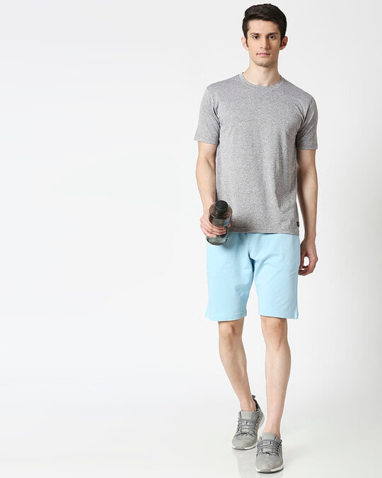 Shop Sky Blue Casual Shorts