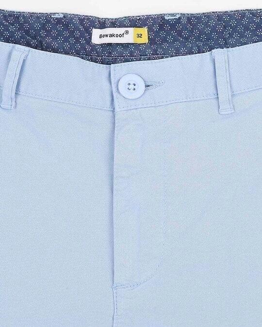 Shop Sky Blue Chino Shorts