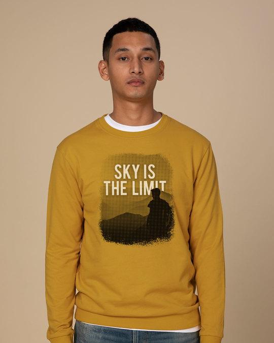 Shop Sky Is The Liimit Sweatshirt-Front