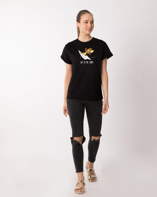 Shop Sky Is The Limit Jerry Boyfriend T-Shirt ( TJL )-Design