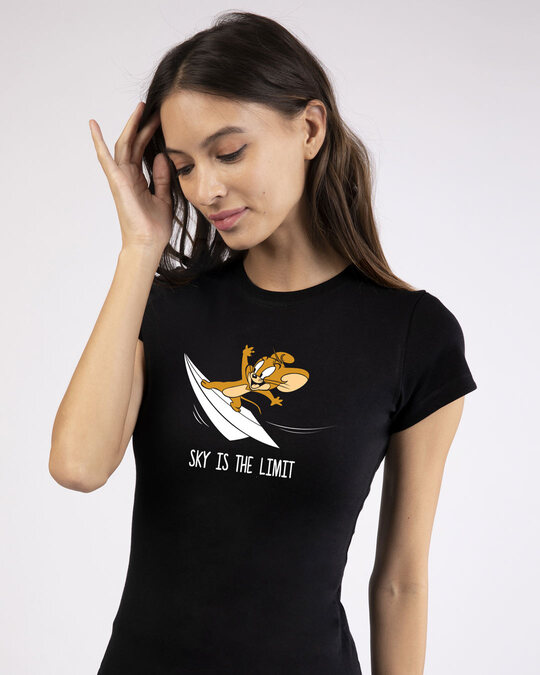 Shop Sky Is The Limit Jerry Half Sleeve T-Shirt ( TJL )-Front