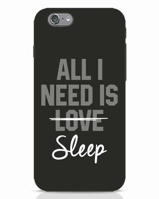 Shop Sleep iPhone 6 Mobile Cover-Front