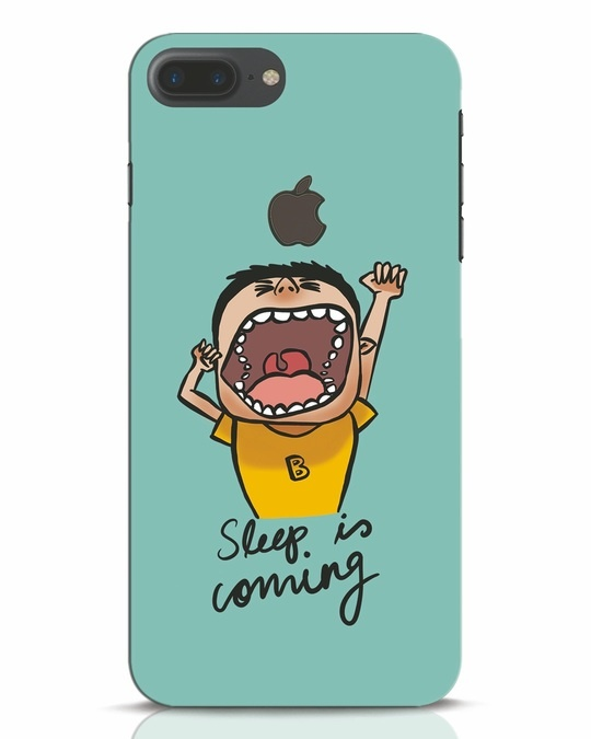 Shop Sleep Is Coming iPhone 7 Plus Logo Cut Mobile Cover-Front