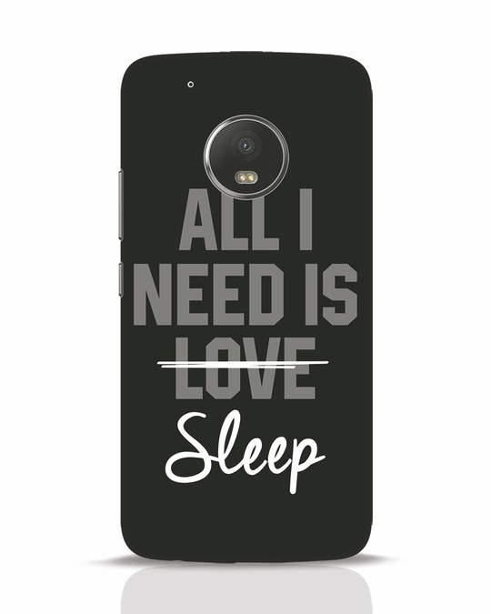 Shop Sleep Moto G5 Plus Mobile Cover-Front