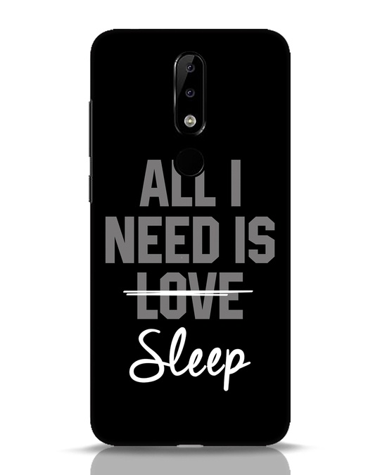 Shop Sleep Nokia 5.1 Plus Mobile Cover-Front