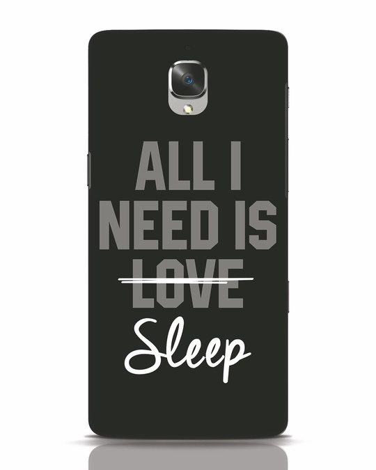 Shop Sleep OnePlus 3 Mobile Cover-Front