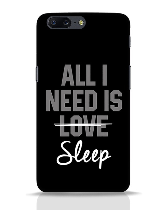 Shop Sleep OnePlus 5 Mobile Cover-Front