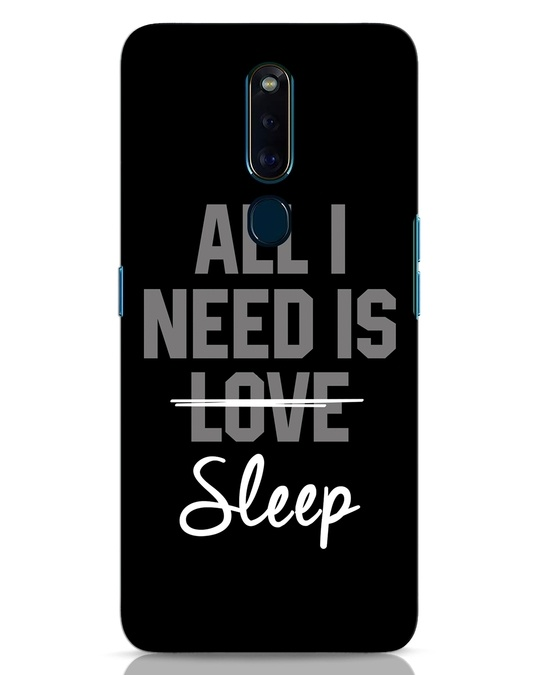 Shop Sleep Oppo F11 Pro Mobile Cover-Front